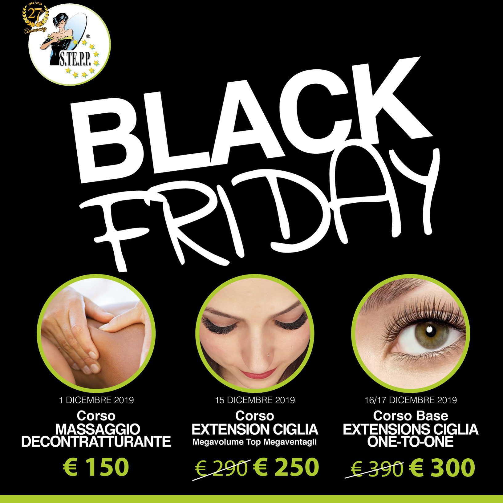 black friday di stepp corsi scontati
